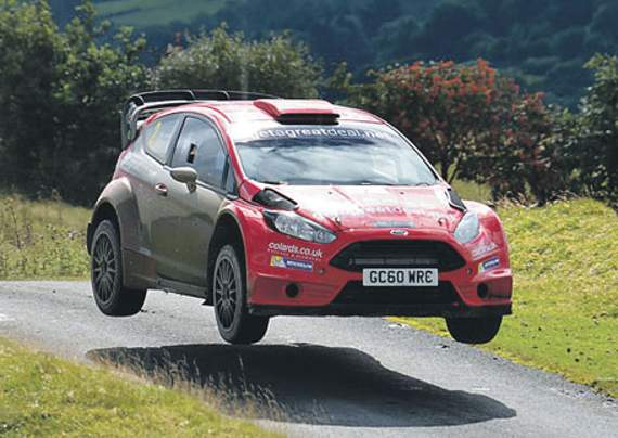 PIC: Jucy Rally Photography: Winners Damian Cole and Paul Morris
